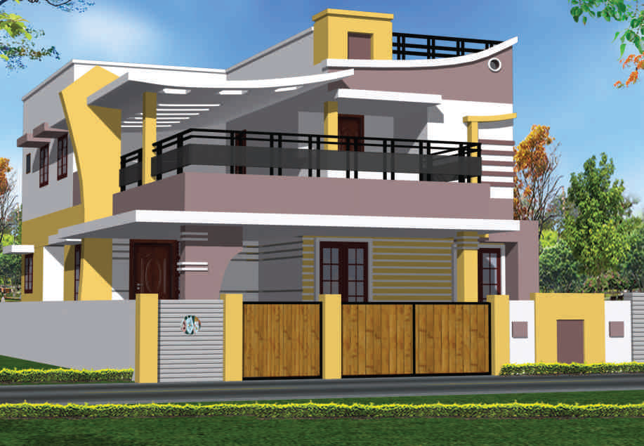 Bhk Elevation Picture